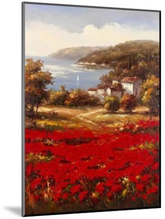 Poppy Harbor-Marino-Mounted Art Print