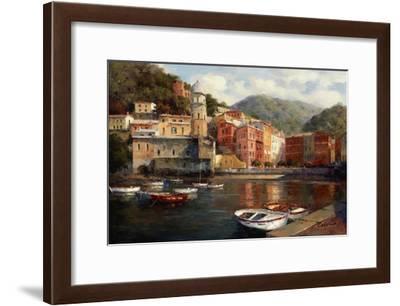 Serenity At Harbor-Catano-Framed Art Print