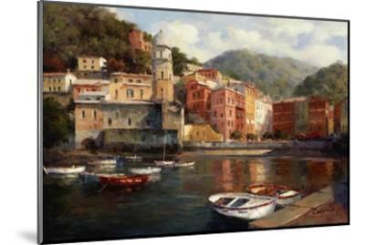 Serenity At Harbor-Catano-Mounted Art Print