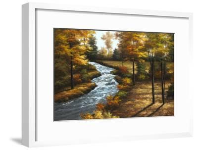 Roaring Brook-Diane Romanello-Framed Art Print