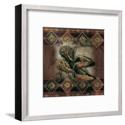 Western Spur-Alma Lee-Framed Art Print