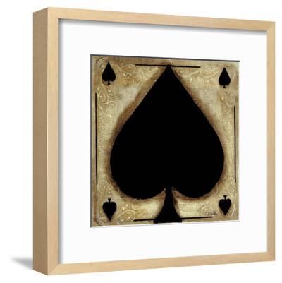 Spades-Celeste Peters-Framed Art Print