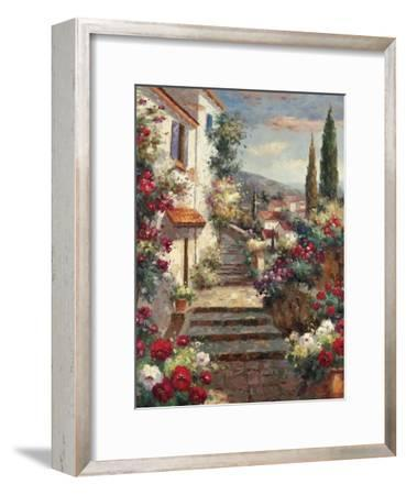 Stairstep Bouquets-Mauro-Framed Art Print