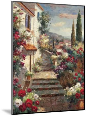 Stairstep Bouquets-Mauro-Mounted Art Print