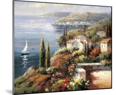Mediterranean Vista-Peter Bell-Mounted Art Print