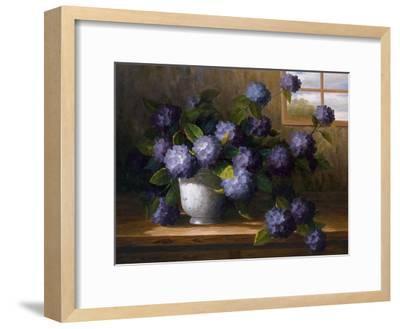 Hydrangea Blossoms II-Welby-Framed Art Print