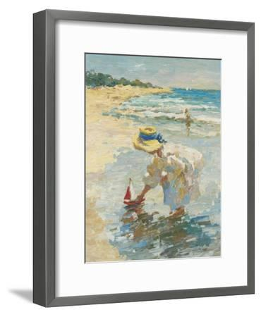 Seaside Summer II-Vitali Bondarenko-Framed Art Print
