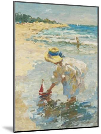 Seaside Summer II-Vitali Bondarenko-Mounted Art Print