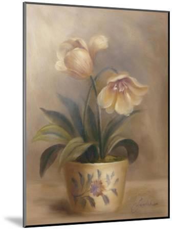 Olivia's Flowers II-Cheovan-Mounted Art Print