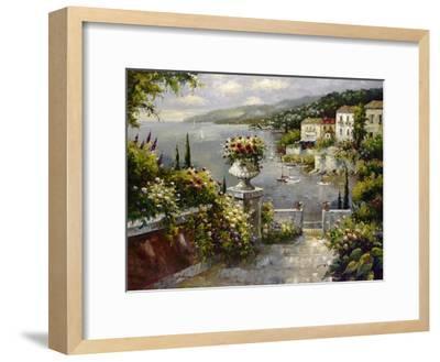 Capri Vista II-Peter Bell-Framed Art Print