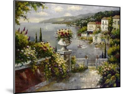 Capri Vista II-Peter Bell-Mounted Art Print