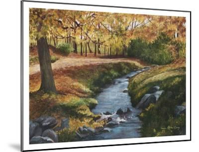 Cool Water-Lene Alston Casey-Mounted Art Print