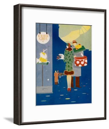 Art Deco Easter Gifts--Framed Art Print