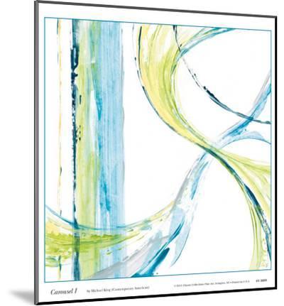 Carousel I-Michael King-Mounted Art Print