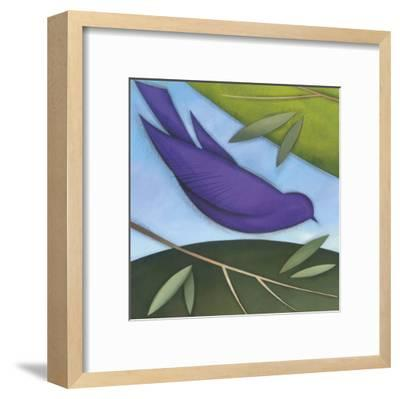 Bird I-David Jensen-Framed Art Print