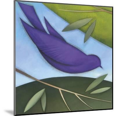 Bird I-David Jensen-Mounted Art Print