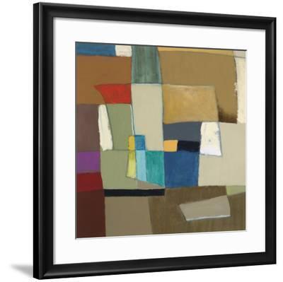 Urban Mix II-Carey Kingsbury-Framed Art Print