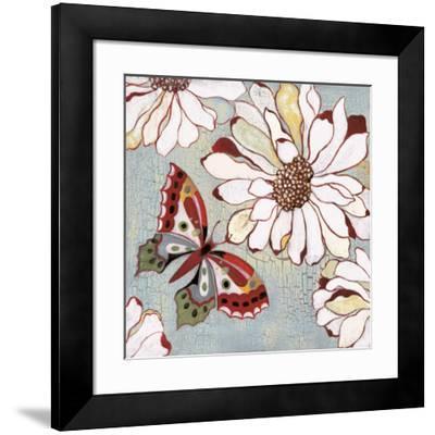 Vintage Butterfly II-Lee Speedwell-Framed Art Print