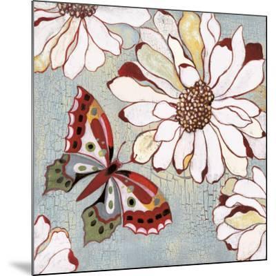 Vintage Butterfly II-Lee Speedwell-Mounted Art Print