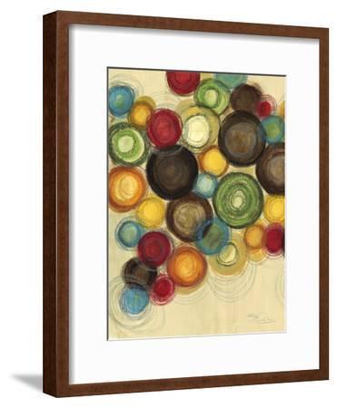 Colorful Whimsy II-Jeni Lee-Framed Art Print