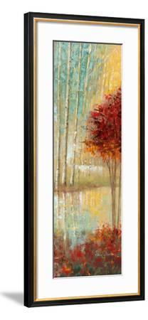 Emerald Pond II-Ruane Manning-Framed Art Print