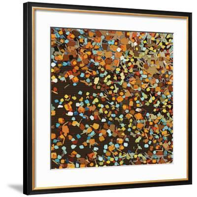 Fall Confetti-Andrew Cotton-Framed Art Print