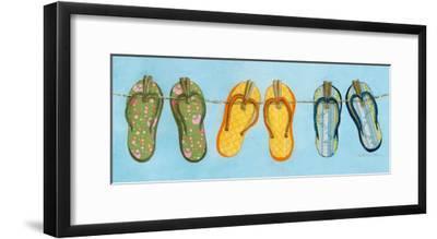 Flip Flops I-Charlene Winter Olson-Framed Art Print