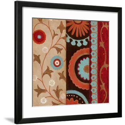 Suzani I--Framed Art Print