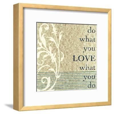 Do What You Love-John Spaeth-Framed Art Print