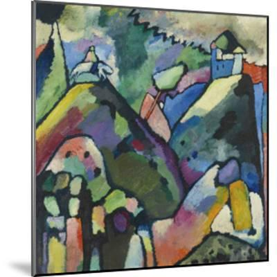 Improvisation 9, 1910-Wassily Kandinsky-Mounted Art Print