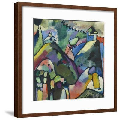 Improvisation 9, 1910-Wassily Kandinsky-Framed Art Print
