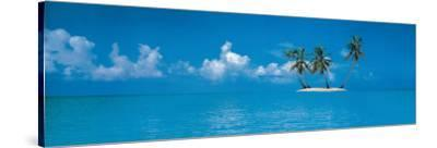 Tropical Island--Stretched Canvas Print