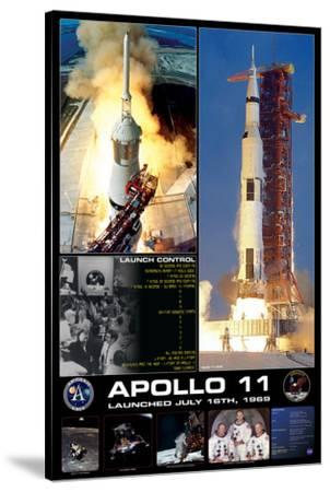 Apollo II Launch--Stretched Canvas Print