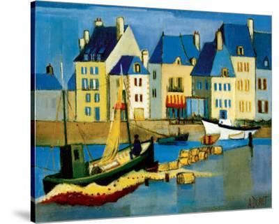 Le Croisic-Andre Duret-Stretched Canvas Print