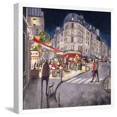 Rendez-vous à Paris-Didier Lourenco-Framed Art Print