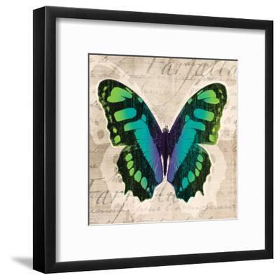 Butterflies II-Tandi Venter-Framed Art Print