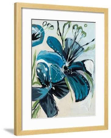 Flowers of Azure I-Angela Maritz-Framed Art Print