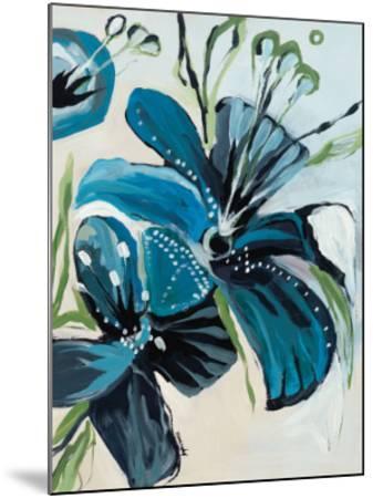 Flowers of Azure I-Angela Maritz-Mounted Art Print