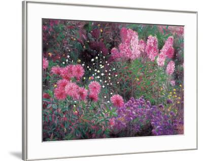 Dahlia and Balsamine- Libo-Framed Art Print