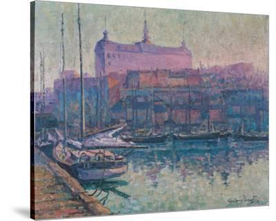 Le Bassin Louise, Quebec 1923-Suzanne Duquet-Stretched Canvas Print
