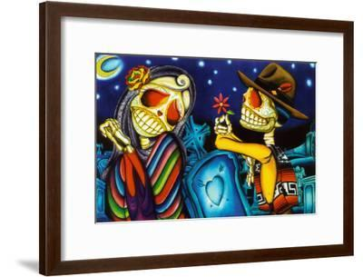 Noche de los Muertos-Dave Sanchez-Framed Art Print