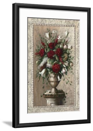 Sonata in Red-Welby-Framed Art Print