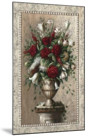 Sonata in Red-Welby-Mounted Art Print