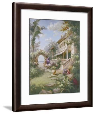 Garden Estate-James Reed-Framed Art Print