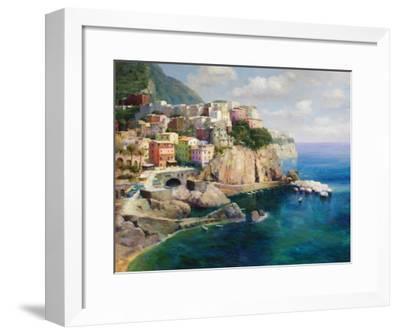 Sicilian Coast-Gasini-Framed Art Print
