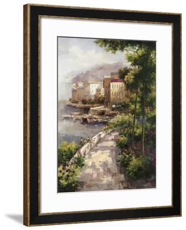 Clearing Fog-Peter Bell-Framed Art Print