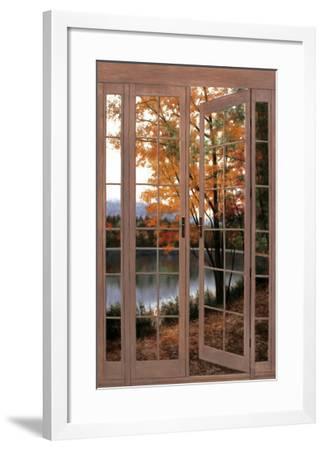 Autumn Threshold-Diane Romanello-Framed Art Print