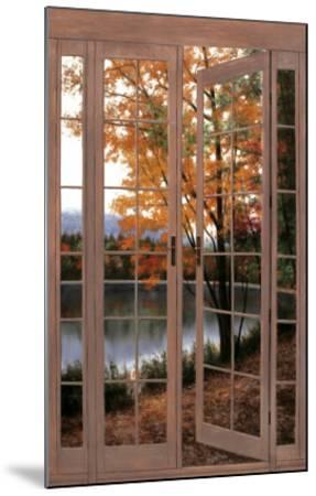 Autumn Threshold-Diane Romanello-Mounted Art Print