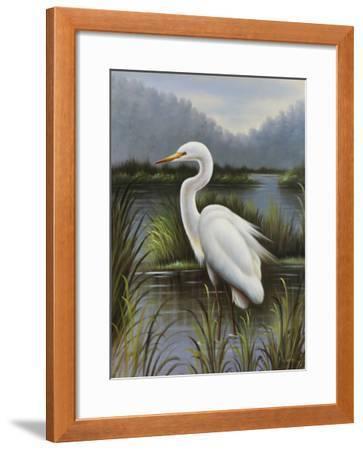 Morning Egret-Kilian-Framed Art Print