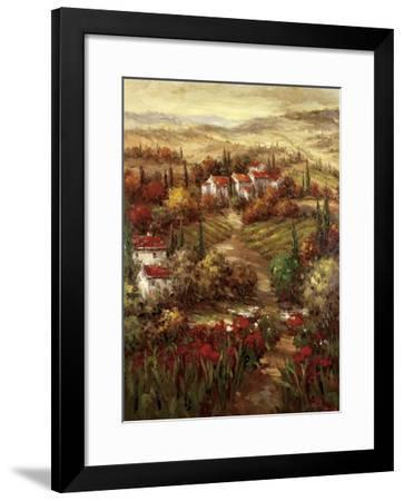 Tuscan Village-Hulsey-Framed Art Print